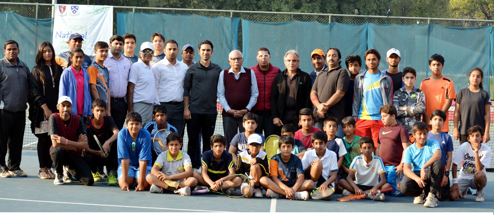 6th SICAS National Junior Tennis Championship's participants