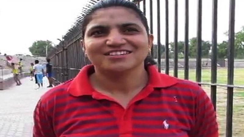 National record holder Nadia Nazeer