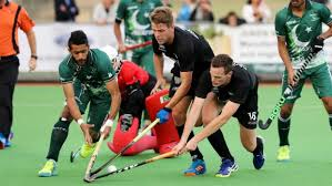 Pakistan vs Newzealand 5th Hockey Test
