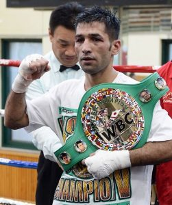 Mohammad Waseem, Pakistan's top ranked boxer