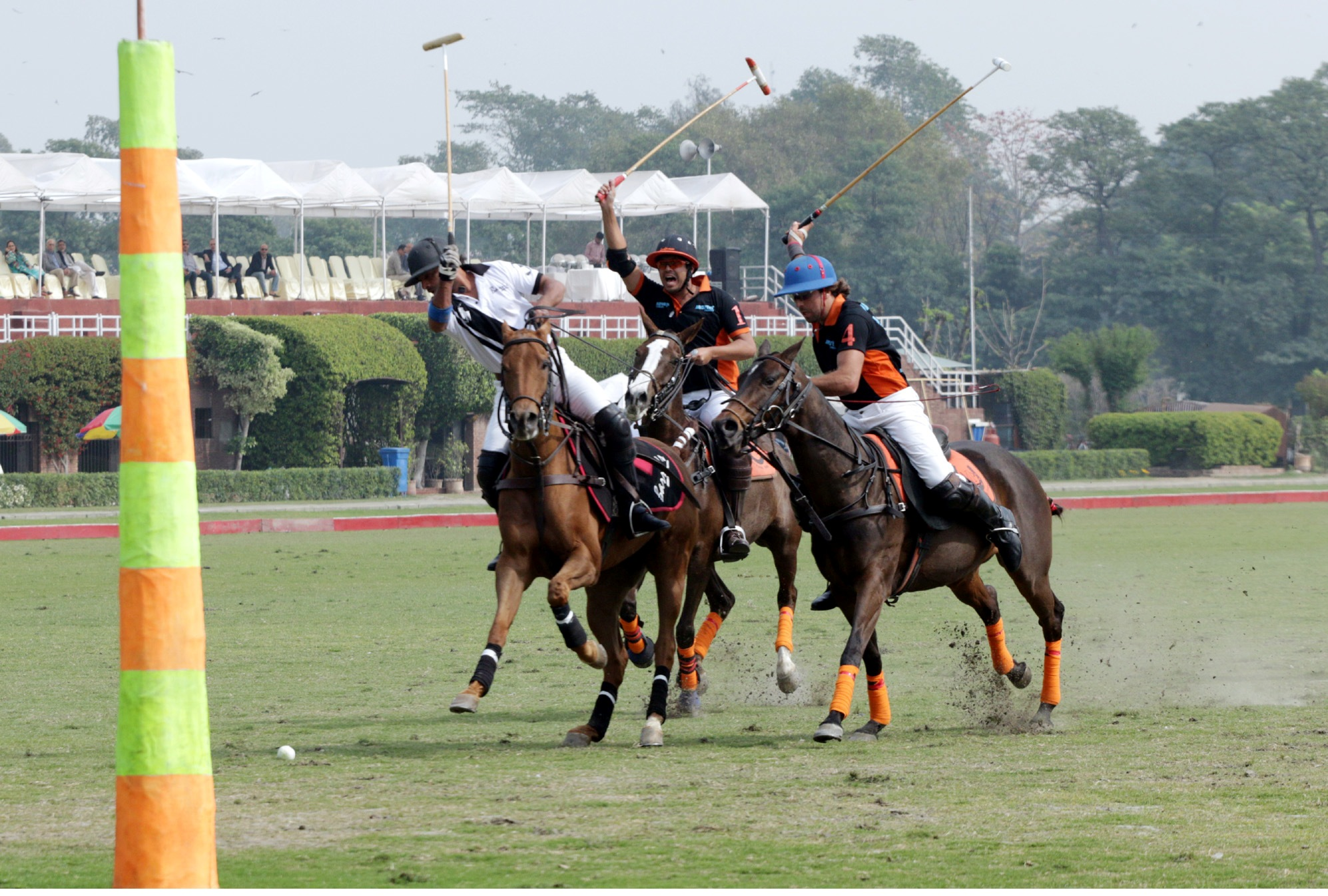 Barry's vs Mater Paints/Newage in the Bank Alfalah National Polo Championhip at LPC