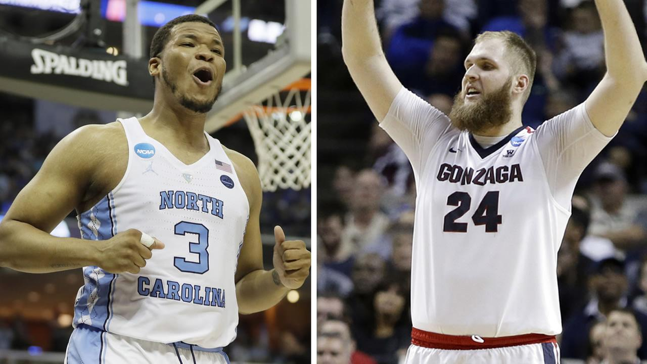 Gonzaga to face North Carolina in the NCAA final