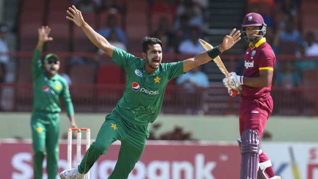 Hassan Ali took 5 wickets for 38 runs