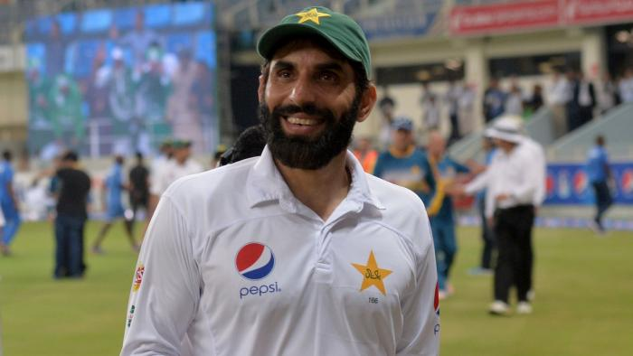 Misbah-ul-Haq --Pakistan's most successful captain.